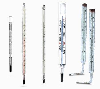 термометры лабораторные ртутные